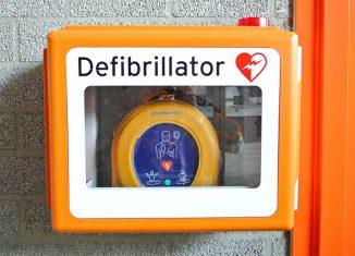 Defibrillator of AED